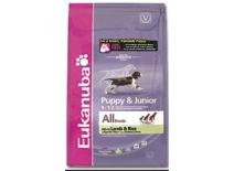 Eukanuba Puppy a Junior Lamb Rice kop.