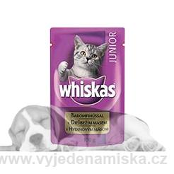 Whiskas kapsička Junior 100g
