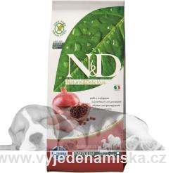 N&D Grain Free DOG Adult kuře a gran. jablko 2,5kg